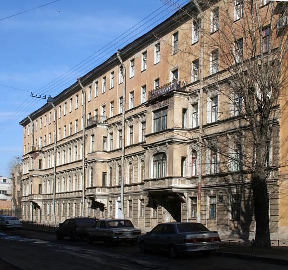 Доходный дом Крутикова, 11-й Красноармейской, д. 7
